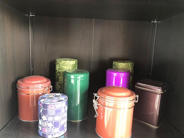 Assorted Tea Tins